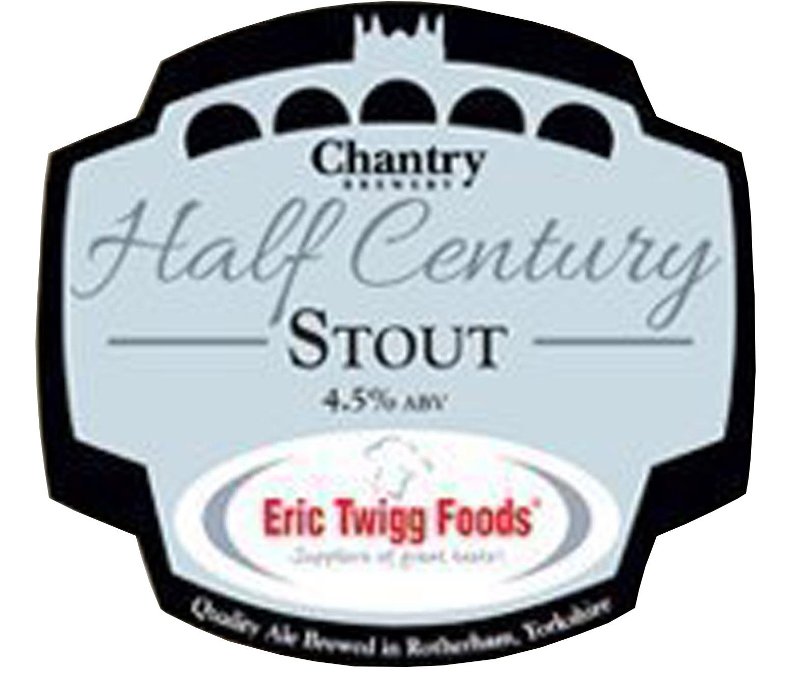 Chantry Brewery Half Century Stout
