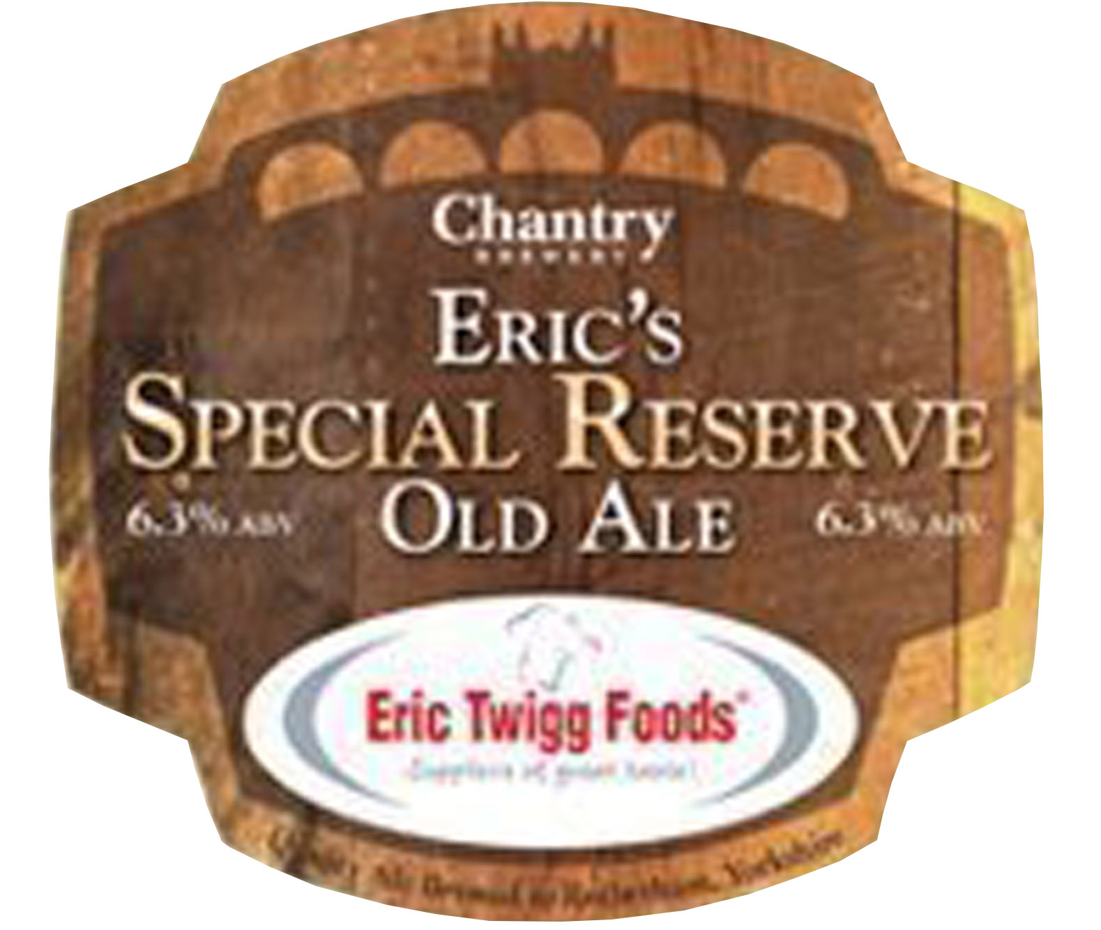 Chantry Brewery Eric's Special Reserve Old Ale
