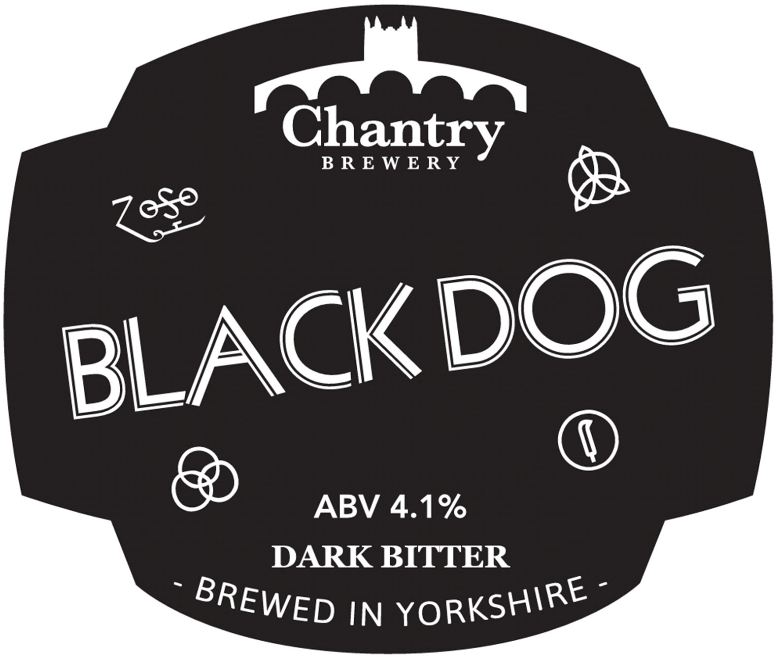 Chantry Brewery Black Dog