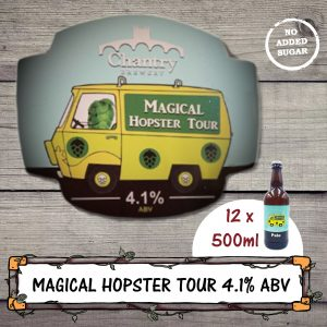 Magical Hopster Tour Real Ale Beer Bottle