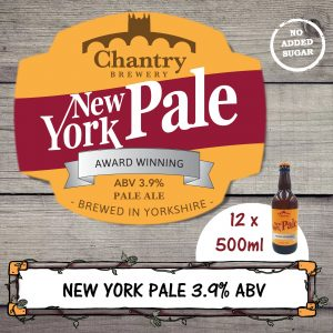 New York Pale Real Ale Beer Bottle