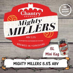 Mighty Millers Real Ale Mini Keg Cask