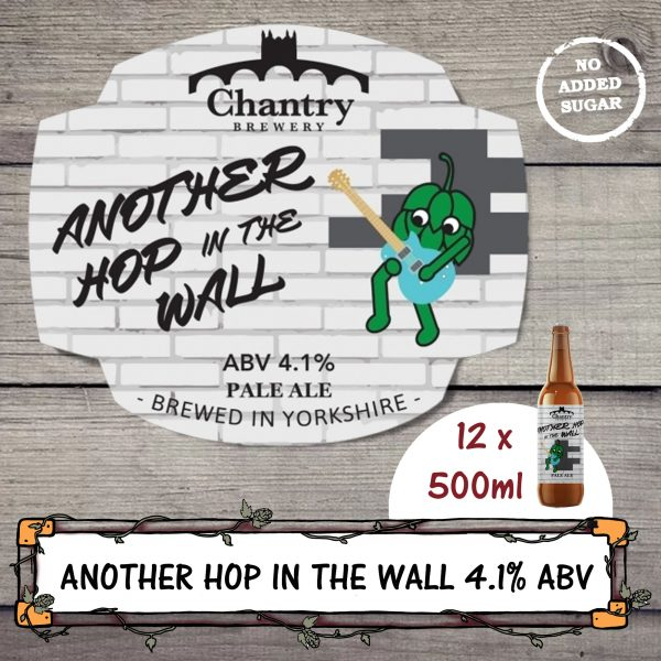 Another Hop in the Wall real ale beer bottle