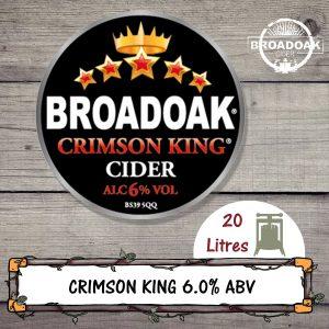 Crimson King Broadoak Cider