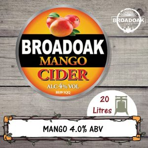 Mango Broadoak Cider