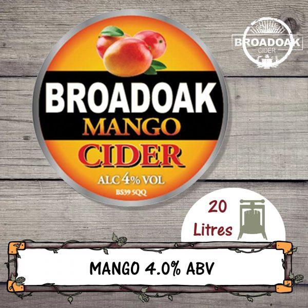 Mango Broadoak Cider