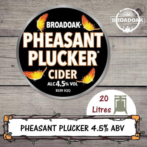 Pheasant Plucker Broadoak cider