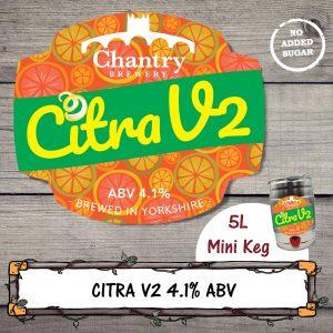 Citra V2 Real Ale Mini Keg