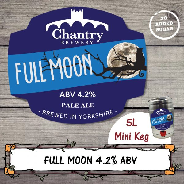 Full Moon Real Ale Mini Keg by Chantry Brewery