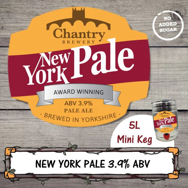 New York Pale Ale Mini Keg