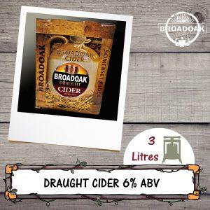 Draught Broadoak Cider