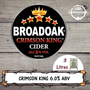 Broadoak Crimson King Cider
