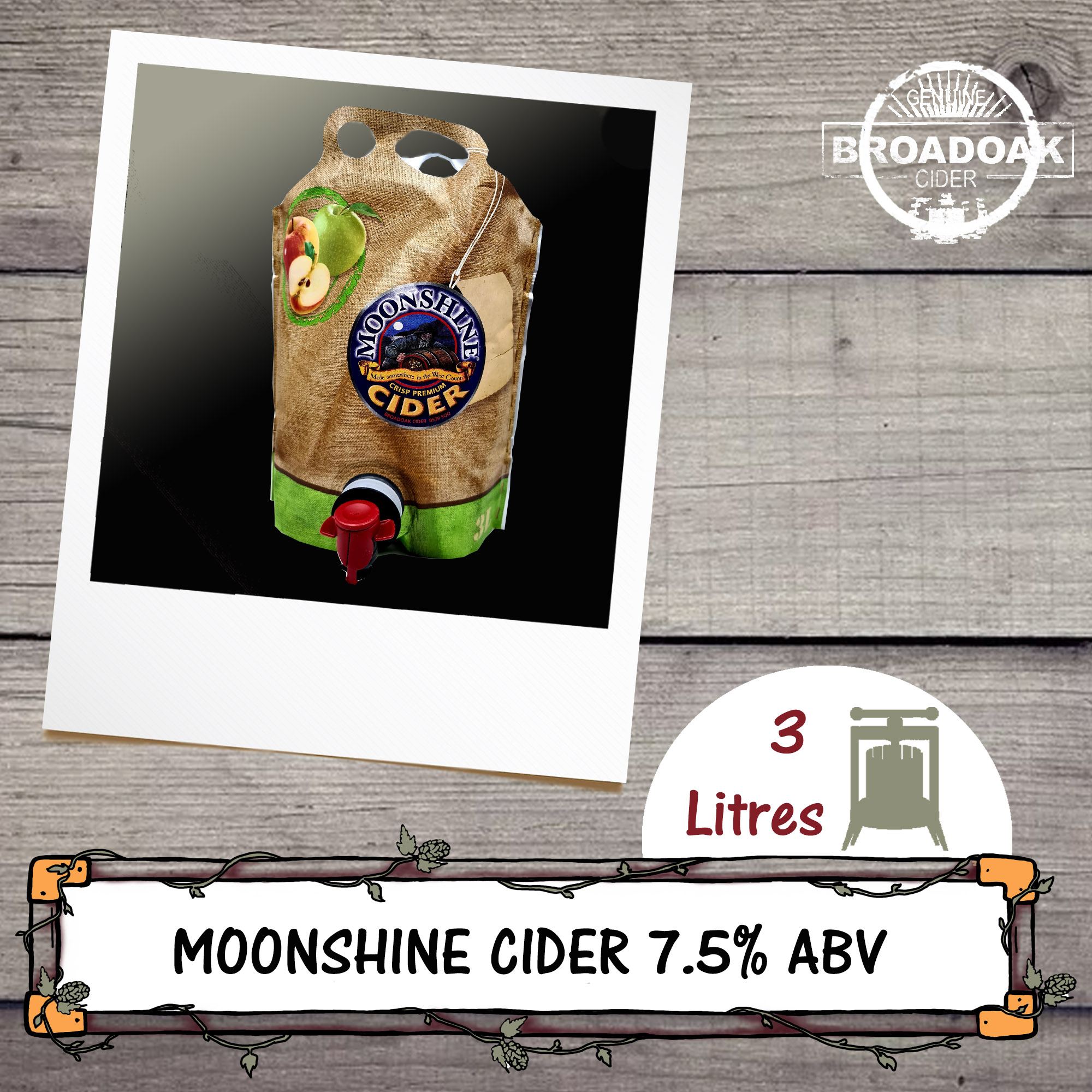 Moonshine Broadoak Cider