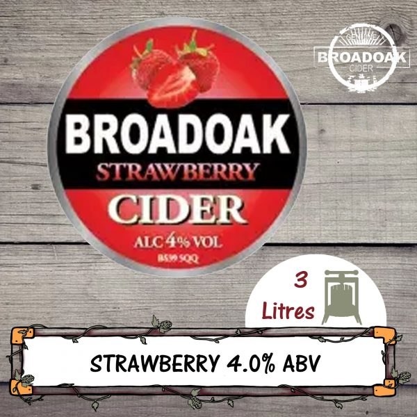 Broadoak Strawberry Cider