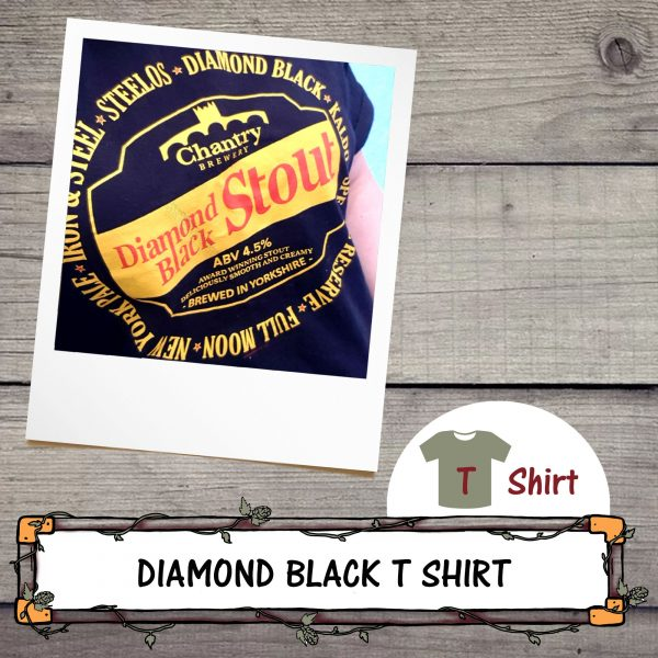 Diamond Black Beer T Shirt