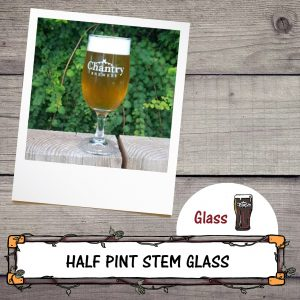 Chantry Brewery Half Pint Stem Glass