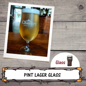 Lager Pint Glass