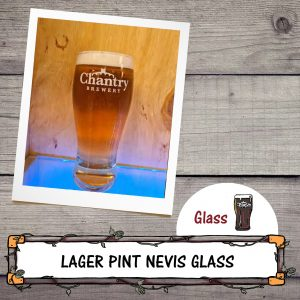 Lager Pint Nevis Glass