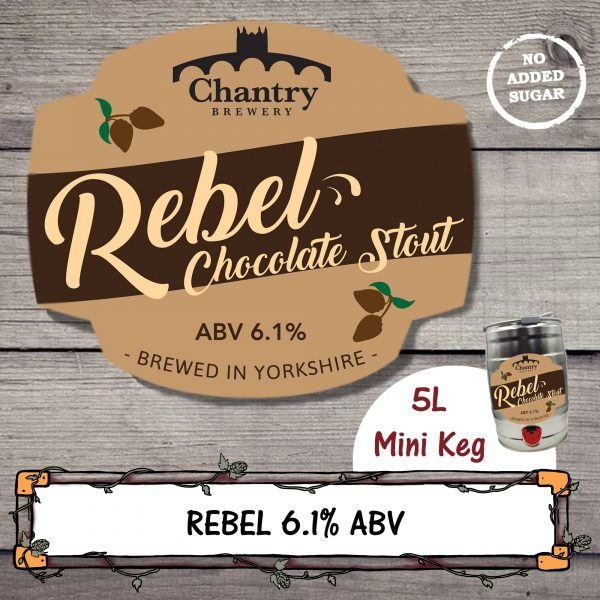 Rebel Stout Mini Keg