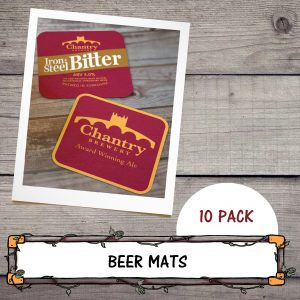 Chantry Brewery Beer Mats