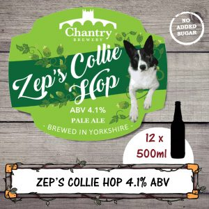 Zep's Collie Hop bottled beer by Chantry Brewery