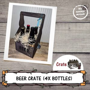 4 real ale beer crate by Chantry Brewery