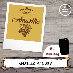 Amarillo Mini Kegs by Chantry Brewery