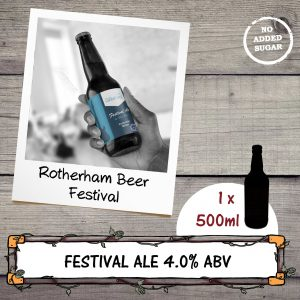 Festival Ale by Chantry Brewery for the Rotherham Beer Festival