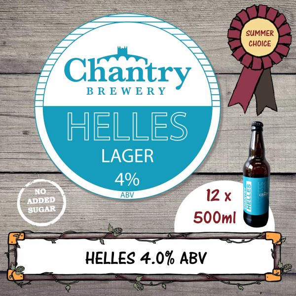 Summer Choice Helles Lager by Chantry Brewery