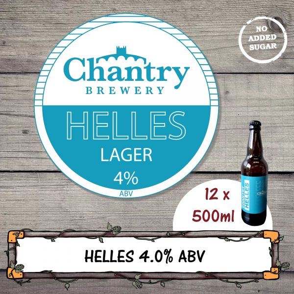 Helles Lager by Chantry Brewery
