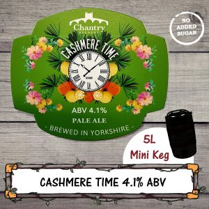 Cashmere Time Mini Keg brewed by Chantry Brewery