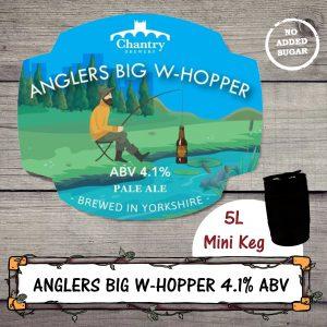 Anglers Big Whopper Mini Keg by Chantry Brewery