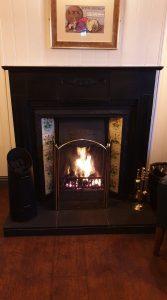 Chantry Inn Fireplace