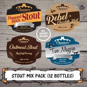 Stout Mix Pack brewed by Chantry Brewery