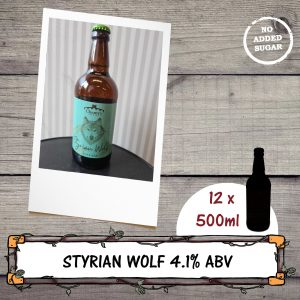 Styrian Wolf pale ale beer bottle by Chantry Brewery